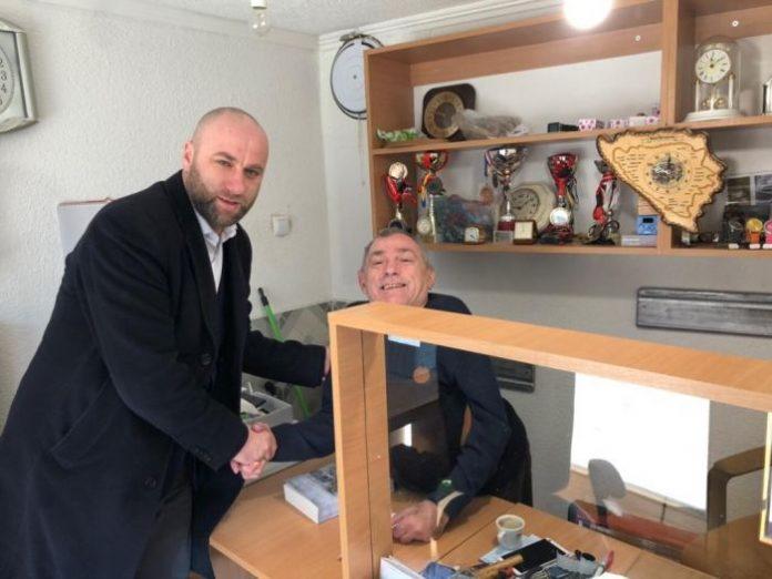 Glavni imam i predsjednik MIZ Jajce posjetili Udruženje paraplegičara