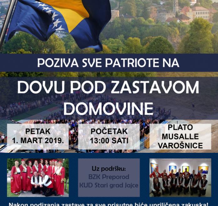 MIZ JAJCE: Dova pod zastavom domovine povodom Dana nezavisnosti