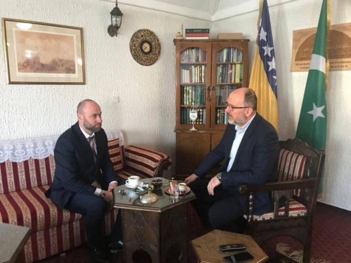 Radni sastanak sa dr. Ahmedom ef. Adilović: Muftija, alim i iskreni prijatelj…