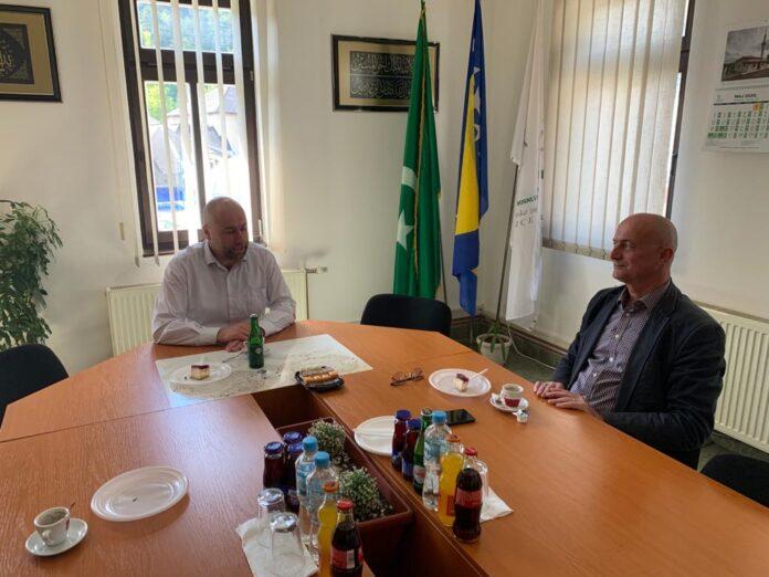 Predsjedavajući Šimunović posjetio glavnog imama Hadžića