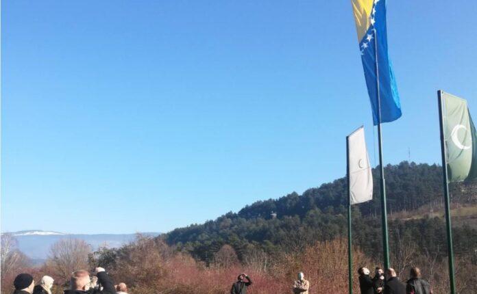 Glavni imam i mladi podigli zastavu Bosne i Hercegovin