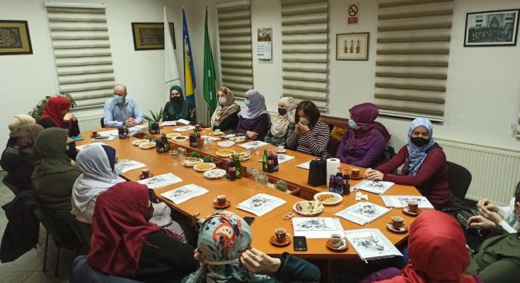 Glavni imam ugostio koordinatorice džemata na 'Dan hidžaba'